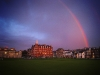 Rainbow over Hamilton Hall